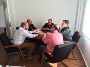 Reunio Comissió Seguretat Benifairo-Faura-Guàrdia Civil