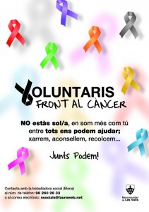 voluntaris front al cancer