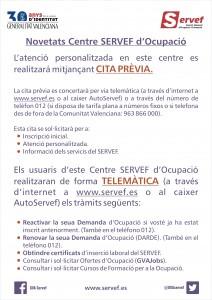 cartel novedades centro servef de empleo val.cdr