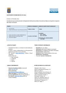 Cartell informatiu Recaptació