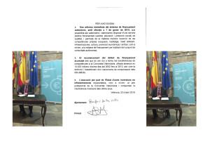 Firma Manifest Alcalde de Benifairó de les Valls