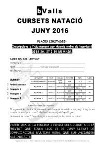 Inici Piscina Juny 2016